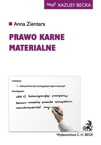 Okładka książki/ebooka Prawo karne materialne