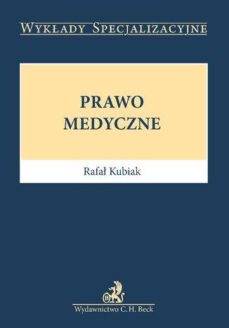 Okładka książki Prawo medyczne