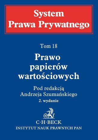 Okładka książki/ebooka Prawo papierów wartościowych. Tom 18