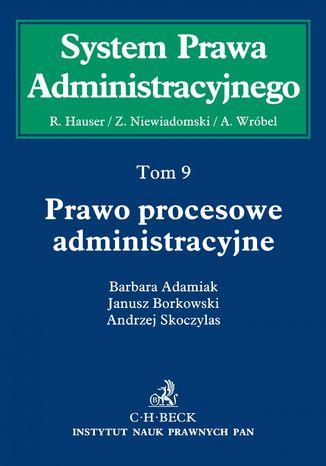 Okładka książki/ebooka Prawo procesowe administracyjne. Tom 9