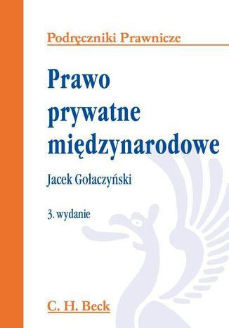 Okładka książki Prawo prywatne międzynarodowe