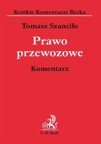 Okładka książki/ebooka Prawo przewozowe. Komentarz