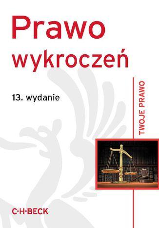 Okładka książki/ebooka Prawo wykroczeń