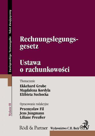 Okładka książki/ebooka Rechnungslegungsgesetz. Ustawa o rachunkowości