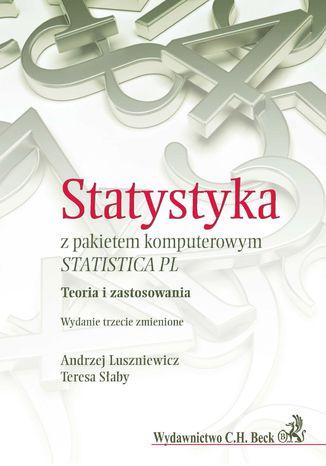 Okładka książki Statystyka z pakietem komputerowym STATISTICA PL. Teoria i zastosowania