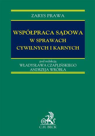 Okładka książki Współpraca sądowa w sprawach cywilnych i karnych
