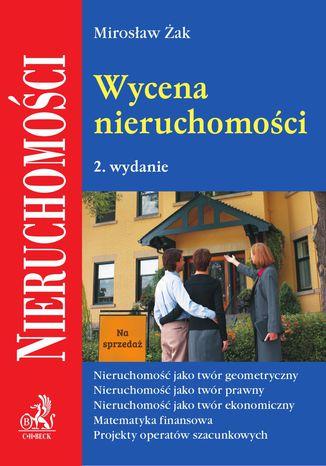 Okładka książki/ebooka Wycena nieruchomości. Wydanie 2