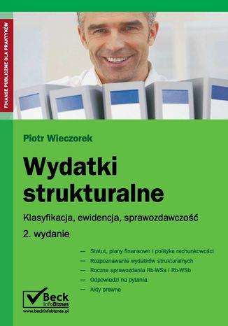 Okładka książki Wydatki strukturalne