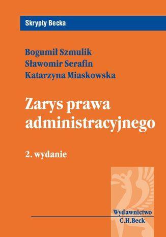 Okładka książki Zarys prawa administracyjnego