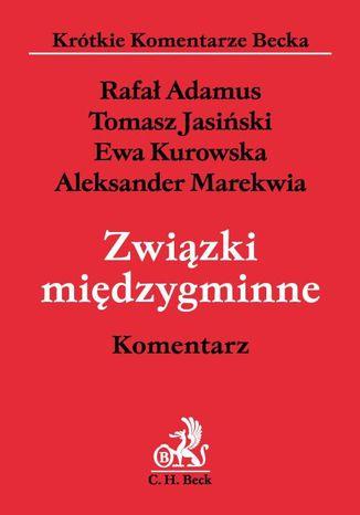 Okładka książki Związki międzygminne. Komentarz