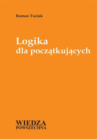 Okładka książki/ebooka Logika dla początkujących