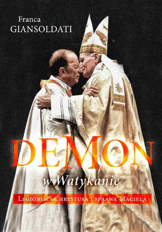 Okładka książki Demon w Watykanie
