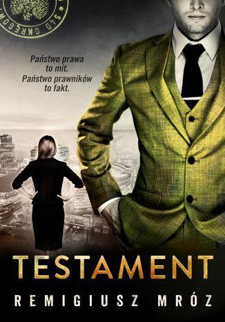 Okładka książki Testament. Joanna Chyłka. Tom 7