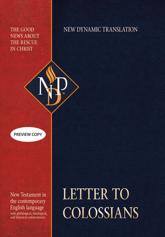 Okładka książki Letter to Colossians (NPD)