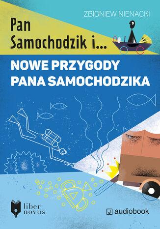 Okładka książki/ebooka Nowe przygody Pana Samochodzika
