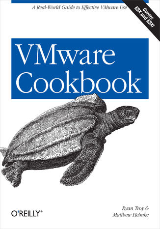 Okładka książki/ebooka VMware Cookbook. A Real-World Guide to Effective VMware Use