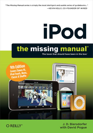 Okładka książki iPod: The Missing Manual. The Missing Manual. 9th Edition