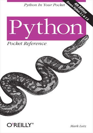Okładka książki/ebooka Python Pocket Reference. Python in Your Pocket. 4th Edition