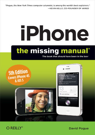 Okładka książki iPhone: The Missing Manual. 5th Edition