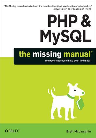 Okładka książki/ebooka PHP & MySQL: The Missing Manual