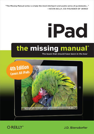 Okładka książki/ebooka iPad: The Missing Manual. 4th Edition