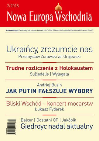 Okładka książki Nowa Europa Wschodnia 2/2018