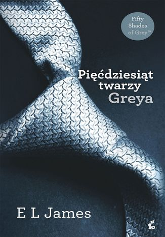 Okładka książki Pięćdziesiąt twarzy Greya