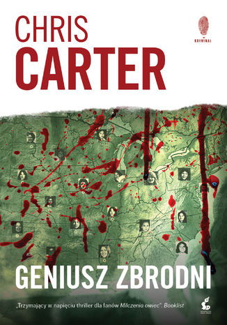 Okładka książki Geniusz zbrodni