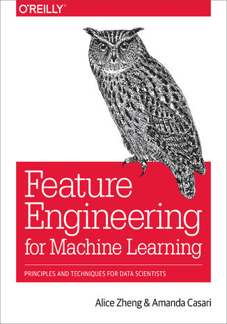 Okładka książki Feature Engineering for Machine Learning. Principles and Techniques for Data Scientists