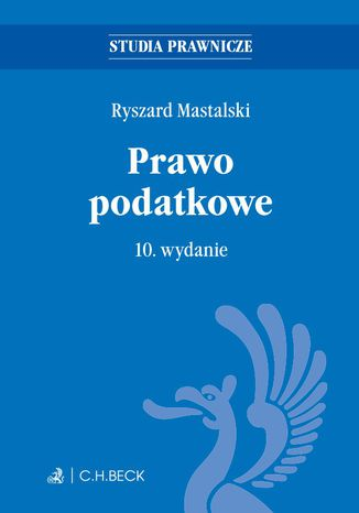 Okładka książki/ebooka Prawo podatkowe. Wydanie 10