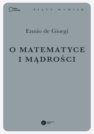Okładka książki O matematyce i mądrości