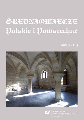 Okładka książki Średniowiecze Polskie i Powszechne. T. 9 (13)