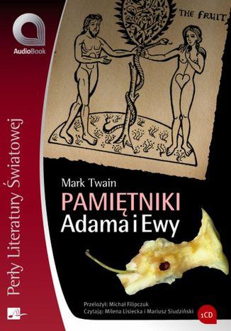 Okładka książki/ebooka Pamiętniki Adama i Ewy