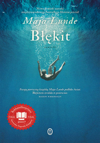 Okładka książki Błękit
