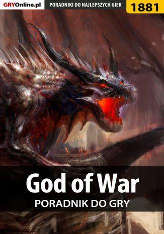 Okładka książki God Of War - poradnik do gry