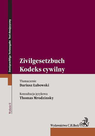 Okładka książki Kodeks cywilny. Zivilgesetzbuch. Wydanie 2
