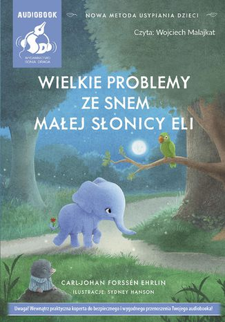 Okładka książki Wielkie problemy ze snem małej słonicy Eli