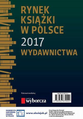 Okładka książki Rynek książki w Polsce 2017. Wydawnictwa