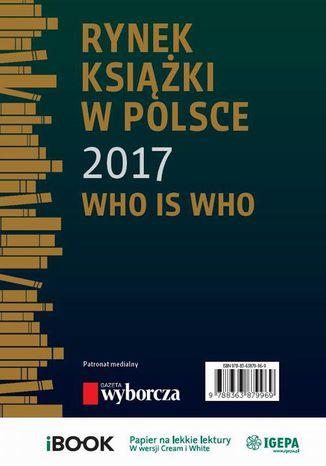 Okładka książki/ebooka Rynek książki w Polsce 2017. Who is who