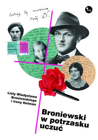 Okładka książki Broniewski w potrzasku uczuć