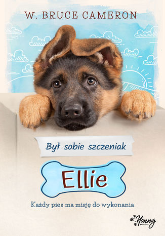Okładka książki/ebooka Był sobie szczeniak. Ellie