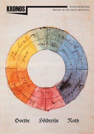 Okładka książki/ebooka KRONOS 1/2018. Goethe. Hölderlin. Roth