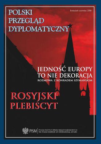 Okładka książki Polski Przegląd Dyplomatyczny 2/2018