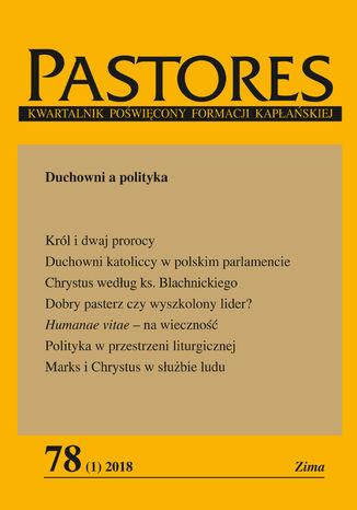 Okładka książki Pastores 78 (1) 2018
