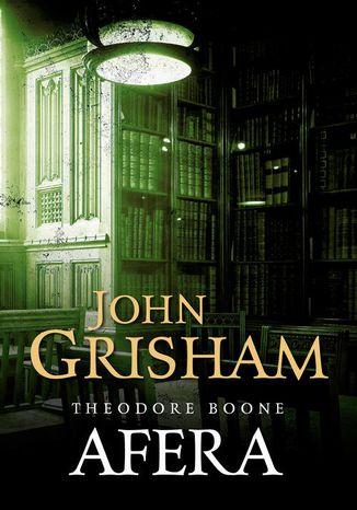 Okładka książki Theodore Boone: Afera