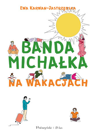 Okładka książki Banda Michałka na wakacjach