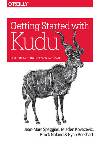 Okładka książki/ebooka Getting Started with Kudu. Perform Fast Analytics on Fast Data