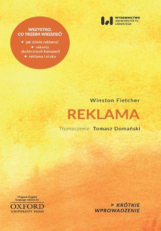 Okładka książki/ebooka Reklama. Krótkie Wprowadzenie 15