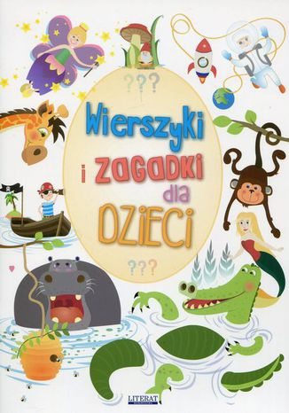 Okładka książki/ebooka Wierszyki i zagadki dla dzieci