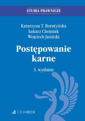 Okładka książki/ebooka Postępowanie karne. Wydanie 3